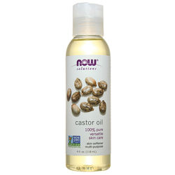 NOW Foods Касторовое масло, Castor Oil 100 pure, 118ml