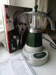 Скидка 20 - Электрическая гейзерная кофеварка GAT Италия на 4-6 чашек