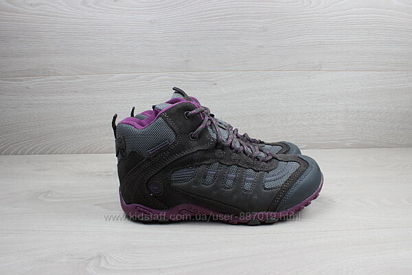 Детские ботинки Hi-tec waterproof, размер 33 треккинговые на шнуровке