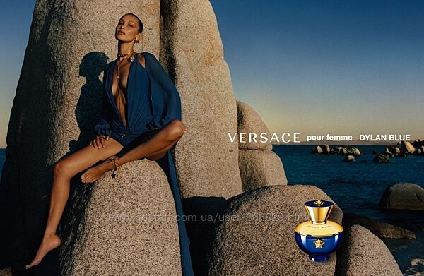 Versace Pour Femme Dylan Blue парфюмированная вода, распив