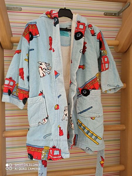 Махровый халат на мальчика  - подарок