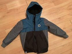 Модная зимняя куртка курточка по бирке 116 см 6 лет