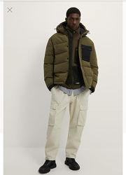 Новая утепленая куртка Zara m