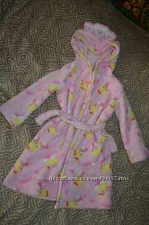 флисовый халат Matalan девочке на 2-3 года рост 98 Англия в идеале