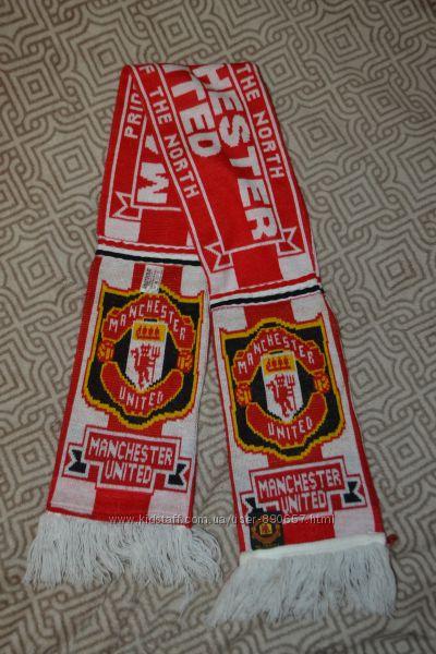 футбольный шарф Manchester united оригинал Англия