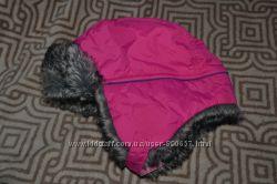 зимняя шапка девочке M&S 18-36 мес на 2-3 года в идеале