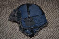 зимняя шапка ушанка мальчику Next на 5-6 лет ог 54-60