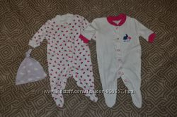 набор новые человечки слипы пижамы Next рост 50-56