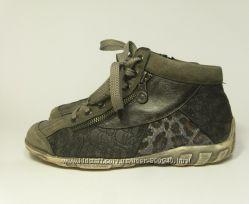 Детские оригинальные утепленные ботинки REMONTE, р. 37