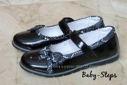 Туфли на девочку 32 - 35 р Palaris Паларис кожаные школьные