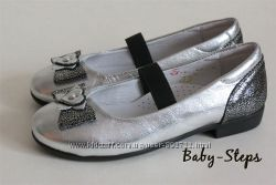 Туфли на девочку 31 - 35 р Palaris Паларис кожаные нарядные