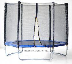 Батуты с защитной сеткой SkyJump, размеры от 183 см и больше