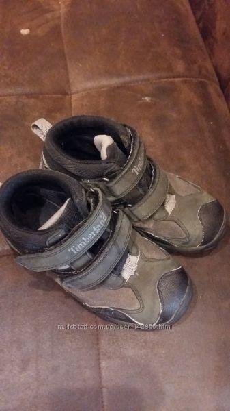 Кожаные ботинки Timberland Waterproof р. 31, стелька 19, 5см