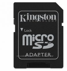 Переходник адаптер карт памяти microSD TF - SD SDHC, SDXC