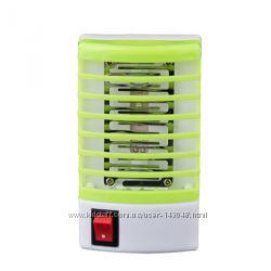 Электрический LED отпугиватель комаров, насекомых, мух,  220В, 1Вт