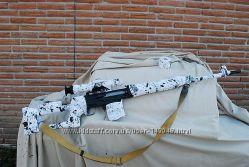Лента для оружия SNOW CAMO ширина 75 мм грязный снег засидка Army Militar