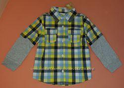 Crazy8 рубашка на мальчика 4Т