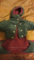 Курточка утепленная для небольшой собачки мальчика. качество супер