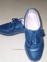 Туфли Jumping Jacks синие, кожа