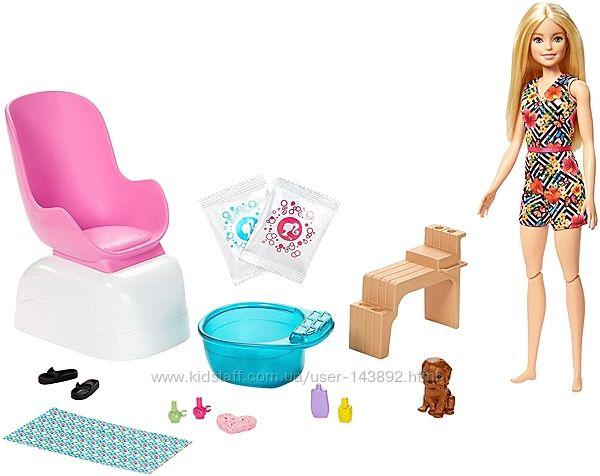 Кукла Барби Barbie Маникюрный салон Mani-Pedi Spa GHN07