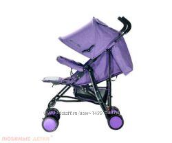 Коляска трость Everflo Voyage purple E-850A Новая