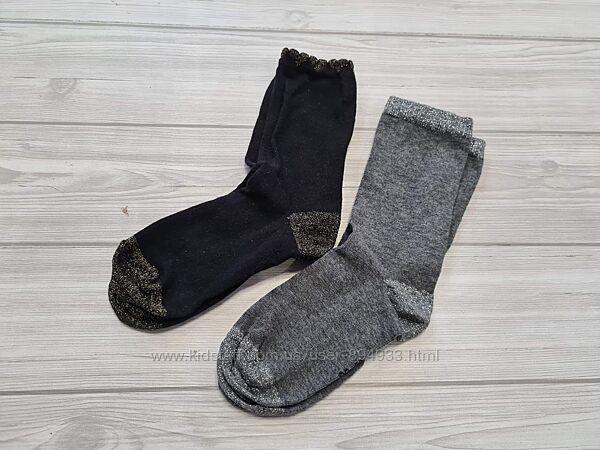 Набор носков с люрексом  от Tchibo р. 35 -38