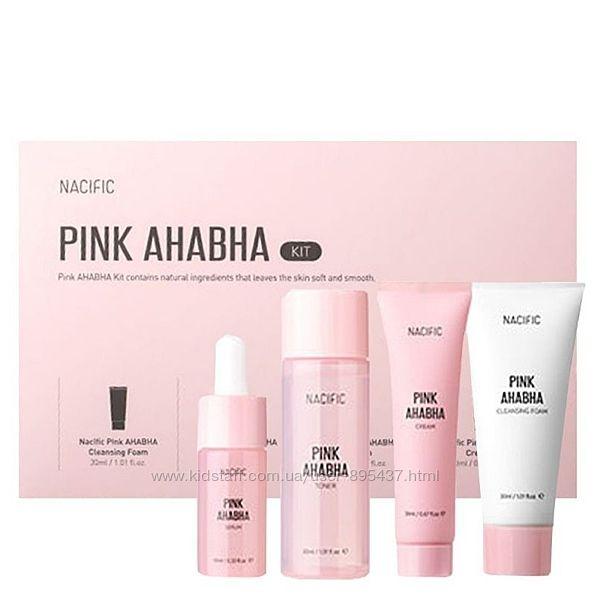 Регенерирующий набор с киcлотами Nacific Pink AHA/BHA Kit