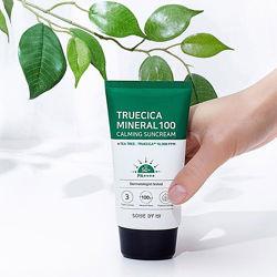 Солнцезащитный крем Some By Mi Truecica Mineral 100 Calming Sun Cream SPF50