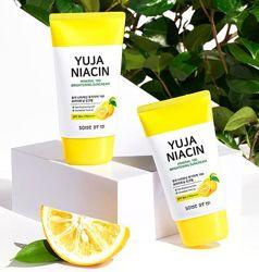 Осветляющий солнцезащитный крем Some by Mi Yuja Niacin Mineral 100
