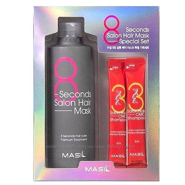 Маска для волос Салонный эффект Masil 8 Second Salon Hair Mask 350 ml