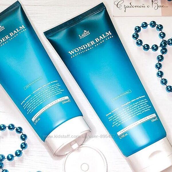 Кератиновый бальзам для ломких волос Lador Wonder Balm 200 ml
