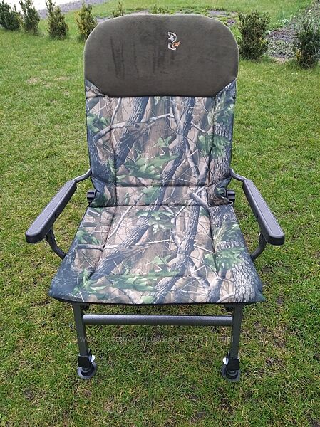 Кресло карповое FK5P камуфляж