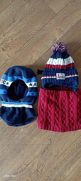 Зимний шлем, шапка, снуд