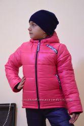Детская зимняя курточка на 116-140 см