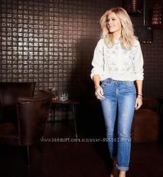 Качественные джинсы, моделирующие  от тсм Tchibo Чибо, разм 44-46 и 48-50