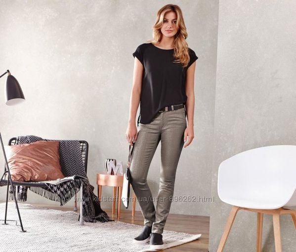Стильные и удобные джинсы с напылением от тсм Tchibo Чибо, укр 42-48