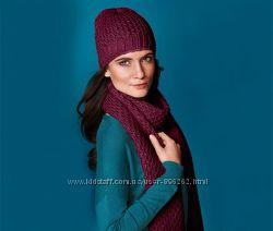 Большой теплый шарф от тсм tchibo чибо, германия, размер 200 см30 см