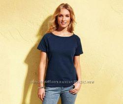 Стильная футболка с плотного трикотажа от тсм TchiboЧибо, Германия, р. 42-46