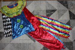 Карнавальный костюм клоуна, петрушки TU на 11-13 лет
