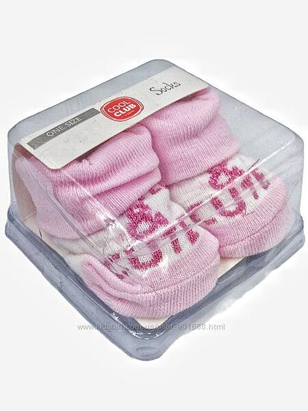 Носочки пинетки новорожденным. Шкарпетки немовляті. Польша Cool Club