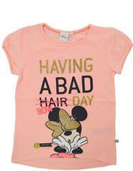 Модная футболка для девочки Мини Маус. Модна футболка Міні Маус
