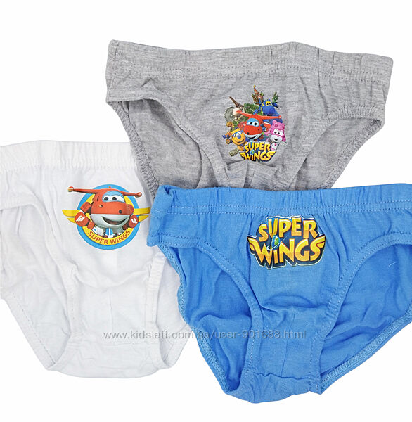 Хлопковые трусы мальчик Дисней Супер крылья Летачки Труси хлопчик