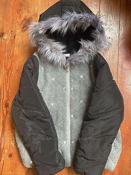 Утепленная курточка весна Турция, рост 146 маломерит