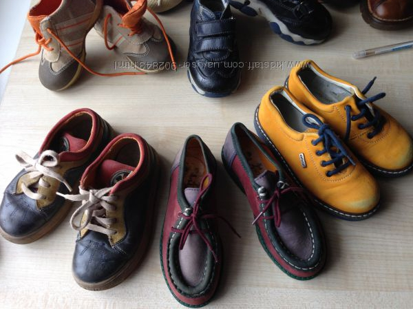 Туфли, ботинки 28р Кожаные. цветные. Германия