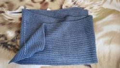 Теплый объемный шарф