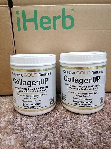 California Gold Nutrition, CollagenUP, морской гидролизованный коллаген