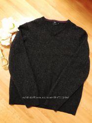 100  шерсть свитер джемпер f&f woolmark pure new wool