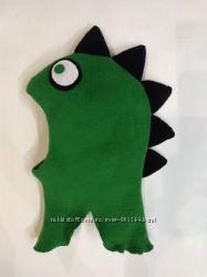 Шапка шлем динозаврик