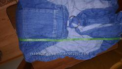 Слинг katinka с кольцами джинсовый