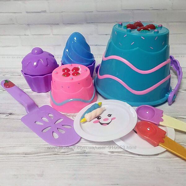 Набор для песочницы Торты и пирожные